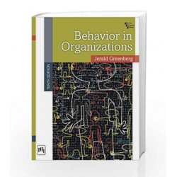 Behavior in Organizations by Greenberg J Book-9788120346024