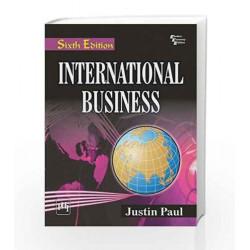 International Business by Paul J Book-9788120348639
