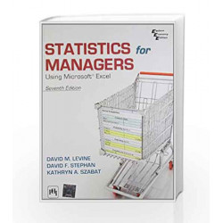 Statistics for Managers Using Microsoft Excel by Levine D.M Book-9788120348134