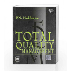 Total Quality Management by Mukherjee Book-9788120330566