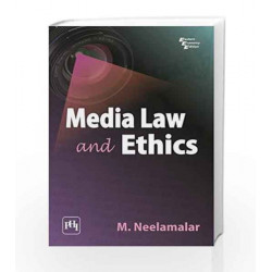 Media Law and Ethics by NEELAMALAR Book-9788120339743