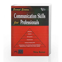 Communication Skills for Professionals by Konar N Book-9788120344204