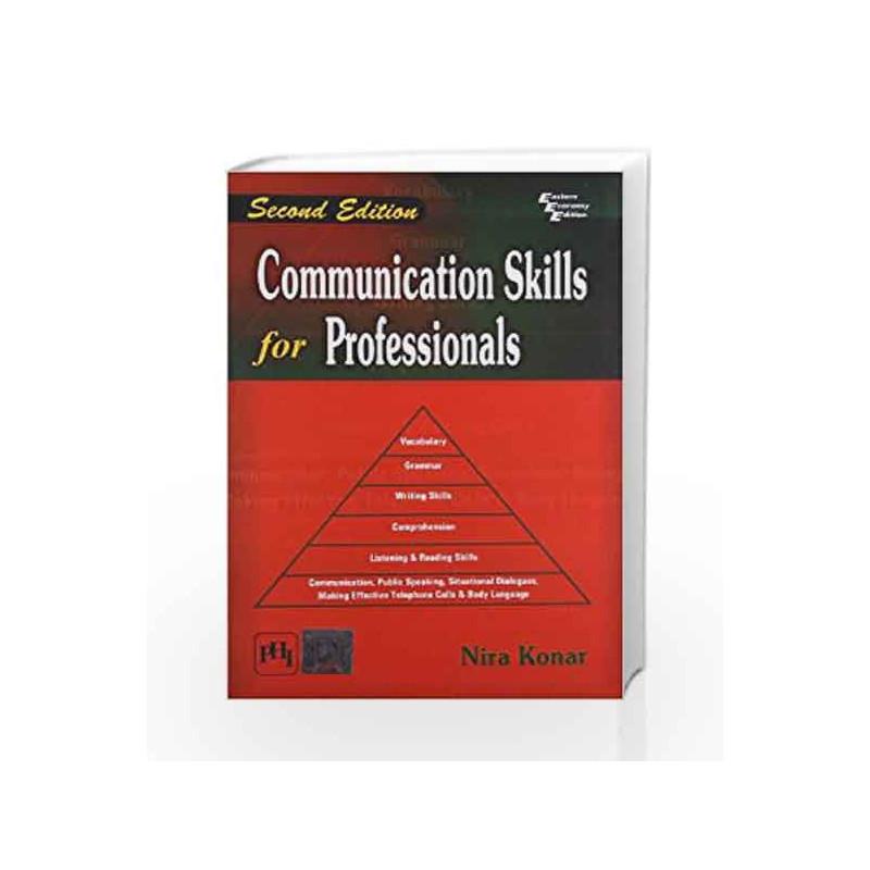Communication Skills for Professionals by Konar N Book-9788120344204