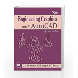 Engineering Graphics with Autocad by Kulkarni D.M Book-9788120337831
