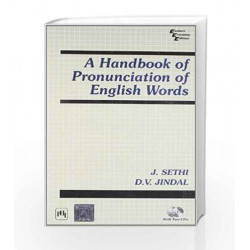 A Handbook of Pronunciation of English Words by Sethi J Book-9788120306707