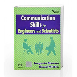 Communication Skills for Engineers and Scientists by Sharma Book-9788120337190