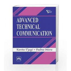 Advanced Technical Communication by Tyagi K Book-9788120341722