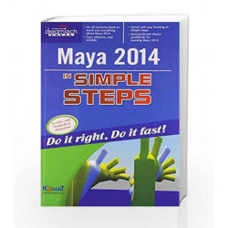 Maya 2014 in Simple Steps by Kogent Learning Solutions Inc. Book-9789351192640