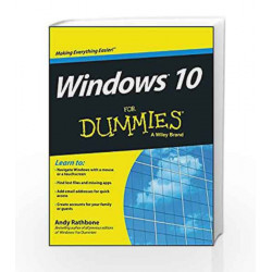 Windows 10 for Dummies by ANDY Book-9788126557929