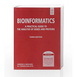 Bioinformatics, 3ed by Andreas D. Baxevanis Book-9788126521920