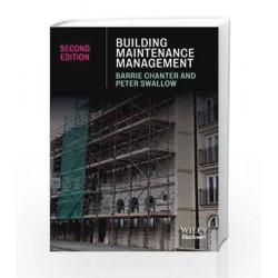 Building Maintenance Management by Barrie Chanter Book-9788126539826