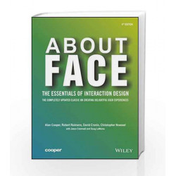 About Face: The Essentials of Interface Design, 4ed (WILEY) by COOPER Book-9788126559718