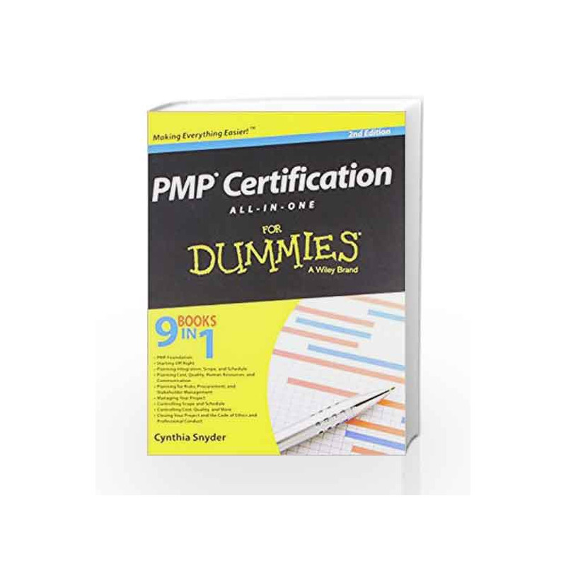 Pmp Certification All In One For Dummies 2ed By Cynthia Buy Online