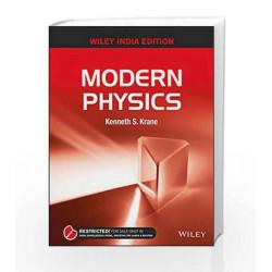 Modern Physics by KENNETH S KRANE Book-9788126556779