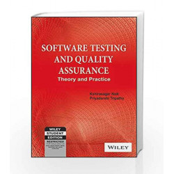 Software Testing and Quality Assurance: Theory and Practice by KSHIRASAGAR NAIK Book-9788126525935