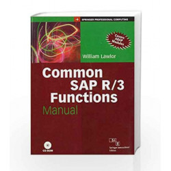 Common SAP R/3 Functions Manual by LAWLOR Book-9788177223637