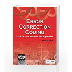 Error Correction Coding Mathametical Methods and Algorithms by MOON Book-9788126507603