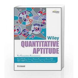 Wiley's Quantitative Aptitude by P.A. Anand Book-9788126549306