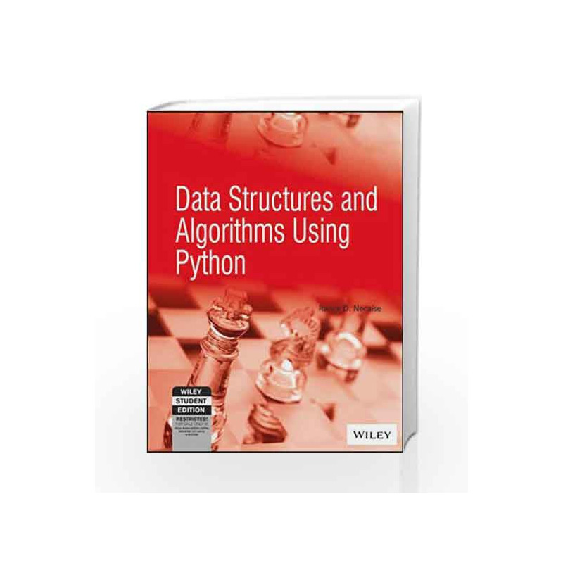 Data Structures and Algorithms Using Python by RANCE D NECAISE-Buy Online  Data Structures and Algorithms Using Python Book at Best Price in