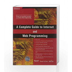 A Complete Guide to Internet and Web Programming by Deven N. Shah Book-9788177229257