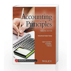 Accounting Principles, ISV (WSE) by Weygandt Book-9788126561216
