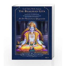 God Talks with Arjuna: The Bhagavad Gita (Set of 2 Volumes) by YOGANANDA Book-9788189535018