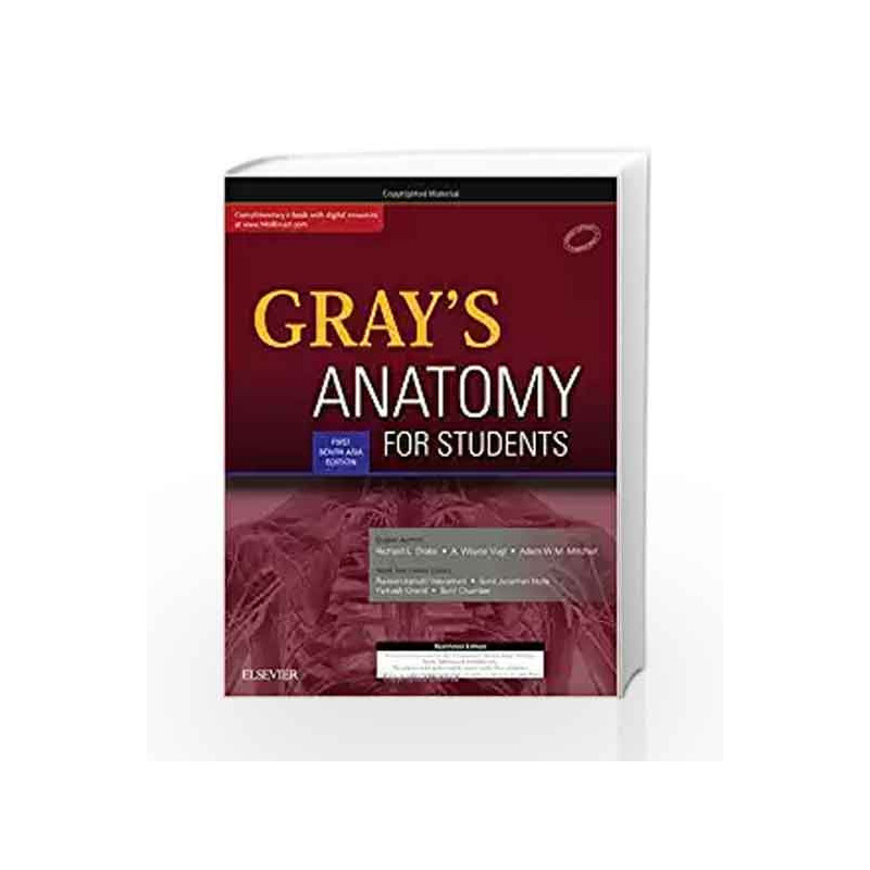 Grays Anatomy For Students By Raveendranath Veeramani Buy Online