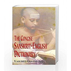 The Concise Sanskrit-English Dictionary by V.S. Apte Book-9788120801523