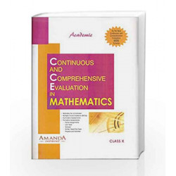 Academic CCE in Mathematics X by J. B. Dixit Book-9789380644172