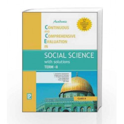 Academic CCE in Social Science with Solutions Term-II X by J. P. Singhal Book-9789380644318