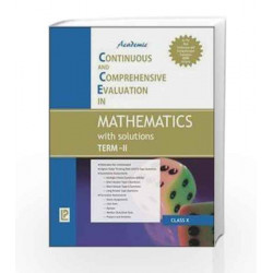 Academic CCE in Mathematics with solutions Term-II X by J. B. Dixit Book-9789380644295