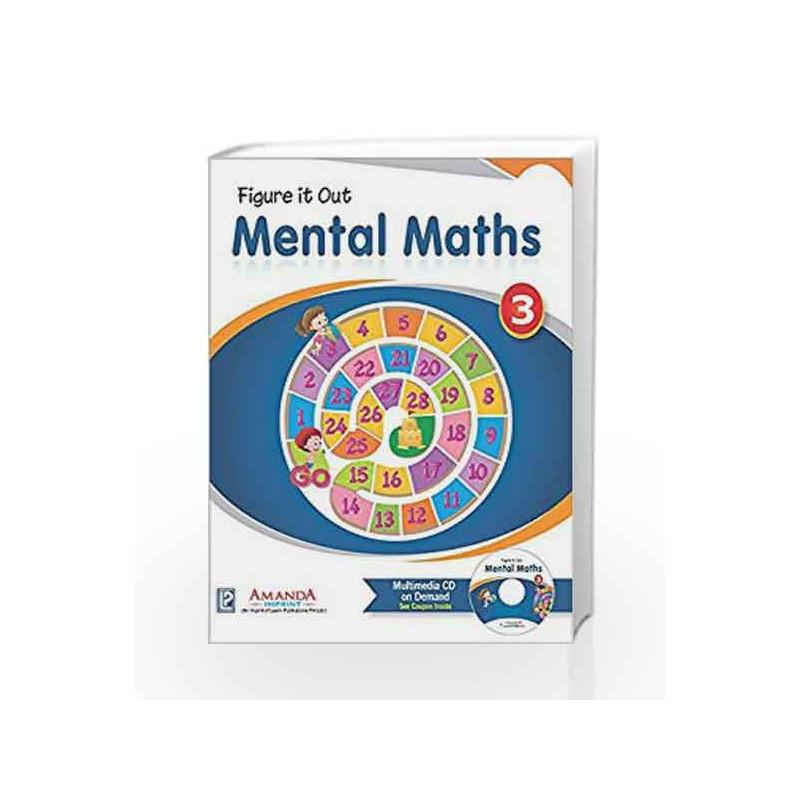 AMM3-4859-195 Mental Maths 3 by Aryaman Gupta Book-9789351382195