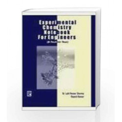 Experimental Chemistry Notebook for Engineers by Lalit Kumar Sharma Book-9788131802489