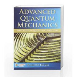 Advanced Quantum Mechanics by Reinhold Blumel Book-9789380298795