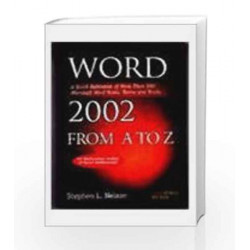 Word 2002 from A to Z by Stephen L. Nelson Book-9788170083283