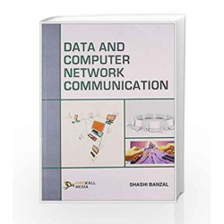 Data and Computer Network Communication by Shashi Banzal Book-9788131801390