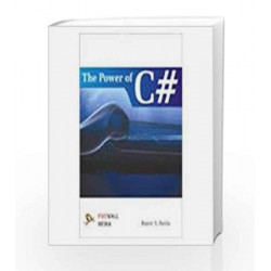 The Power of C# by Rajiv Parida Book-9788131805336