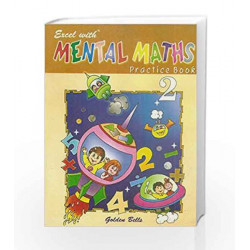 Excel with Mental Maths - 2 by Santosh Pahwa Book-9788179680582