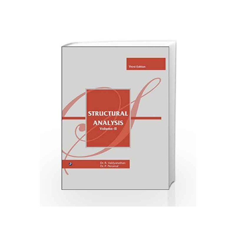 Structural Analysis - II by R. Vaidyanathan Book-9789385935329