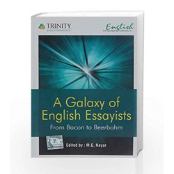 A Galaxy Of English Essayists by M. G. Nayar Book-9789351381150
