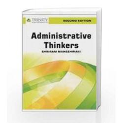 Administrative Thinkers by Shriram Maheshwari Book-9789351380948