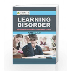 Learning Disorder - Working Manual for Educators, Therapists and Parents by Rupesh Ranjan Book-9789386035646