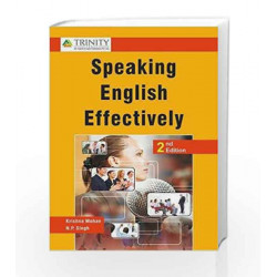 Speaking English Effectively by Krishna Mohan Book-9789351382850