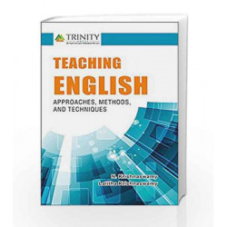 Teaching English- Approaches, Methods and Techniques by N. Krishnasamy Book-9789386035004