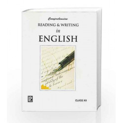 Comprehensive Reading & Writing in English XII by Anjana Aggarwal Book-9788131804179