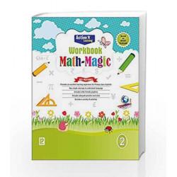 Math Magic Workbook-2 by R.Gupta Book-9789352740086
