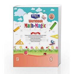 Math Magic Workbook-5 by R.Gupta Book-9789352740116