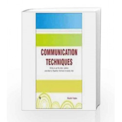 Communication Techniques by Shalini Yadav Book-9789380386614