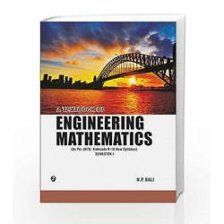 A Textbook of Engineering Mathematics (JNTU, Kakinada) Sem - I by N.P. Bali Book-9789385750946