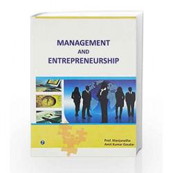 Management and Entrepreneurship by Manjunatha Book-9789380856445